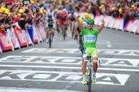 Peter Sagan, en vert... et contre tous