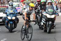 Mark Cavendish rejoint Rouen le visage fermé
