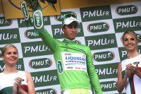 Peter Sagan s'attache au maillot vert