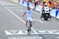 Thibaut Pinot lauréat d'étape sur le Tour à Porrentruy