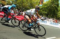 Blel Kadri, 18ème et 1er Français du Tour Down Under