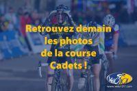 Retrouvez demain les photos de la course Cadets !