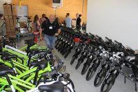 Les vélos prêts à partir chez les clients