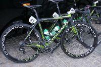 Le nouveau vélo Colnago des Europcar