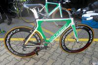 Le vélo Colnago pour les CLM de Pierre Rolland