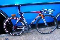 Le vélo CLM Lapierre de la formation FDJ-BigMat