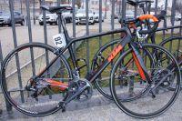 Le vélo KTM de Romain Hardy, membre de l'équipe Bretagne-Schuller