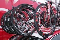 Cofidis arbore ses nouvelles roues American Classic