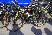 Des décors fluo exclusifs au vélo de Damiano Cunego