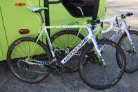 Le vélo Cannondale Evo pour l'équipe Liquigas-Cannondale