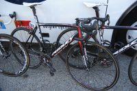 Le vélo de l'équipe Lotto-Belisol