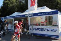 Le stand du Team Veloroc-Lapierre