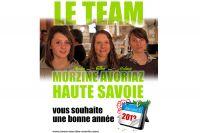 Le team Morzine-Avoriaz-Haute-Savoie vous souhaite une bonne année 2012