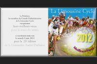 Les voeux de la Limousine Cyclo