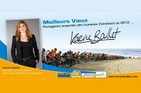 Les voeux de Karine Baillet