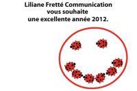 Les voeux de Liliane Fretté Communication
