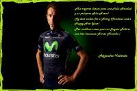 Les voeux d'Alejandro Valverde