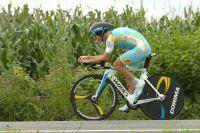Fredrik Kessiakoff remporte le contre-la-montre du Tour d'Espagne 2012