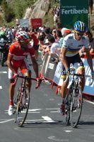 Rodriguez et Contador sont les plus explosifs vers le Mirador de Ezaro