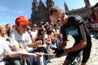 Chris Froome est désormais populaire auprès du public espagnol
