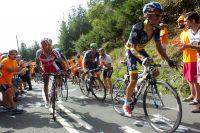 Alberto Contador n'arrive pas à lâcher Rodriguez, Valverde et Froome