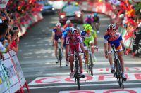 Daniel Moreno règle le sprint du groupe de poursuivants