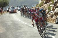 Daniel Moreno emmène le peloton des favoris...où ne figure pas Valverde
