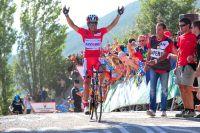 Joaquim Rodriguez n'a pas failli à ses objectifs, il s'impose à Jaca