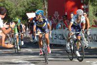 Alberto Contador et Alejandro Valverde donnent tout dans les rampes à 13 %