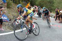 Contador hausse le rythme à 500 mètres de l'arrivée