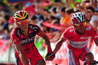 Philippe Gilbert et Joaquim Rodriguez ont allié leurs forces avec succès à Barcelon