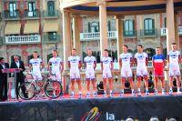 L'équipe FDJ-BigMat sur le Tour d'Espagne 2012