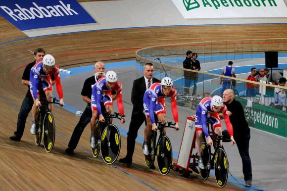 L'équipe britannique de poursuite par équipes
