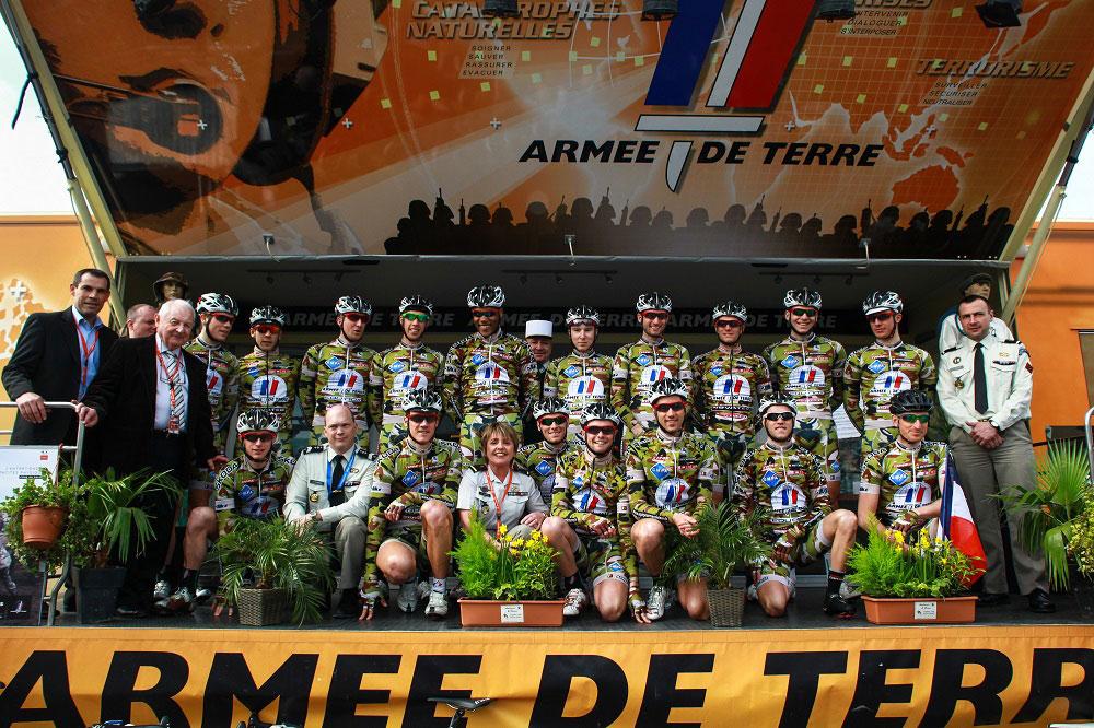 La brillante équipe de l'Armée de Terre
