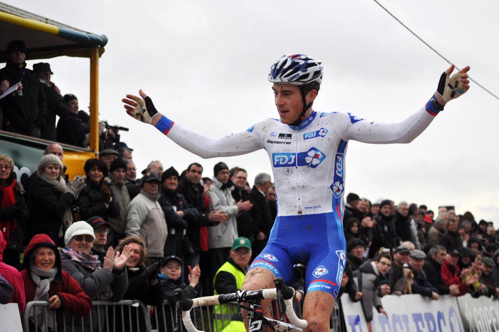 Arnold Jeannesson vainqueur en Bretagne