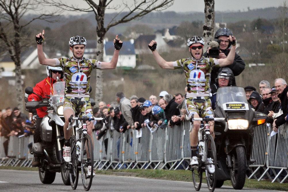 Romain Combaud et Romain Le Roux arrivent victorieux au Bousquet