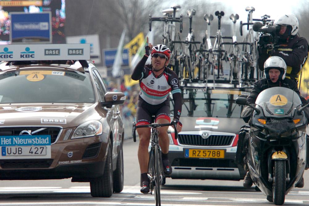 Fabian Cancellara remporte le Ronde pour la deuxième fois