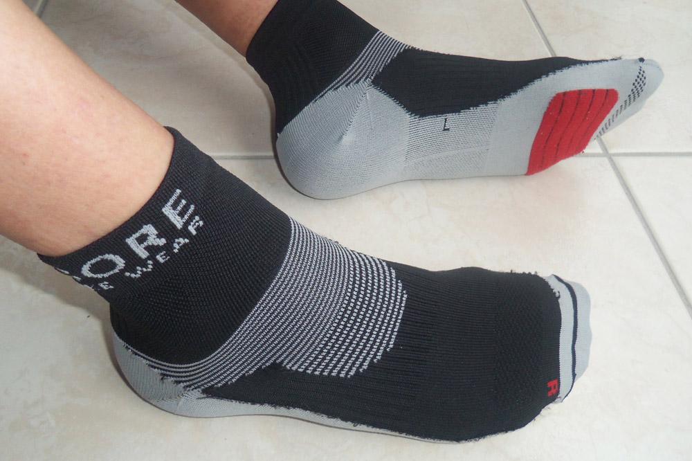 Les chaussettes de la gamme Xenon de Gore Bike Wear