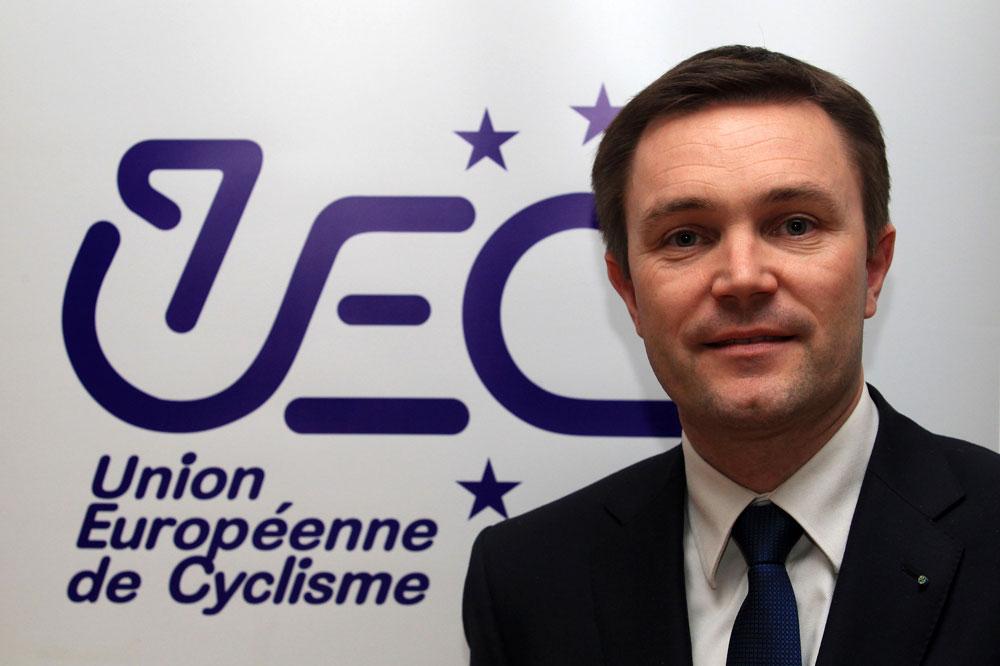 David Lappartient dirige désormais l'Union Européenne de Cyclisme