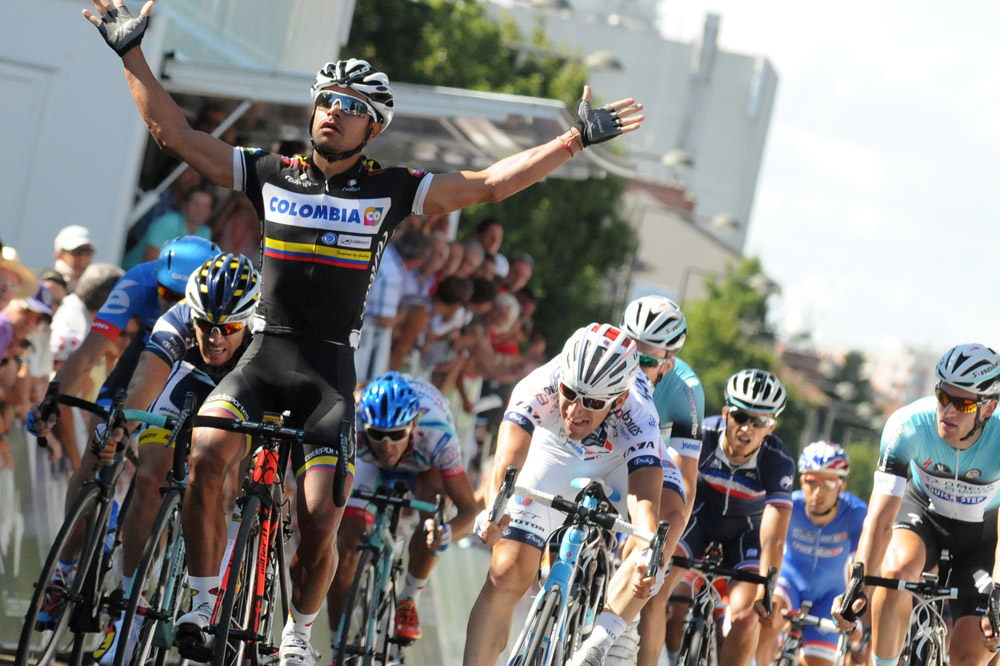 Leonardo Duque vainqueur à Bourg-en-Bresse