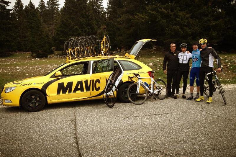 Vélo 101 et Mavic reconnaissent l'Etape du Tour entre Annecy et Le Semnoz