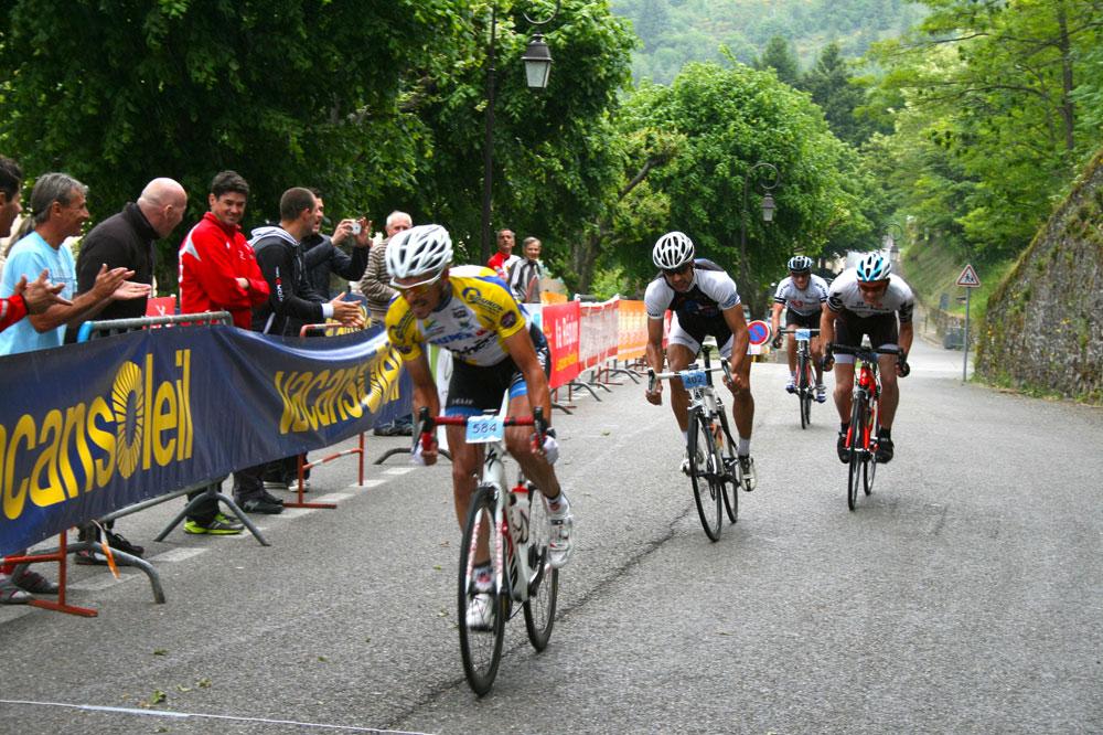 Les cyclos dans le massif granitique du Mont Lozère
