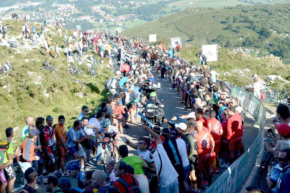 Plus personne dans la rue de Chris Horner sur la Vuelta