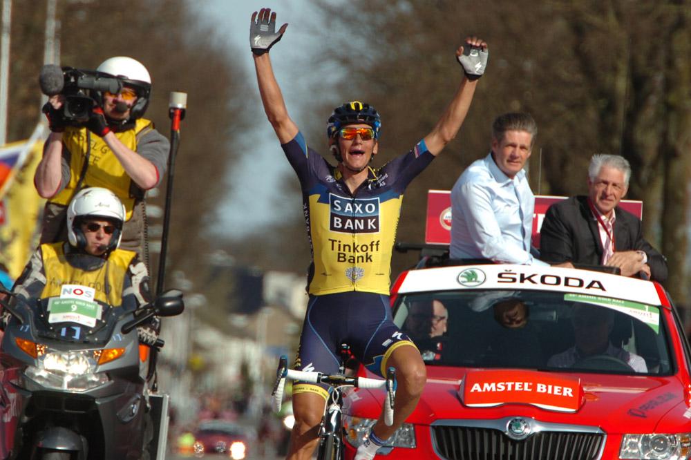 Roman Kreuziger remporte l'Amstel Gold Race !