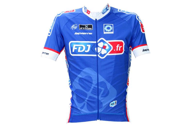 Le maillot 2014 de la FDJ.fr
