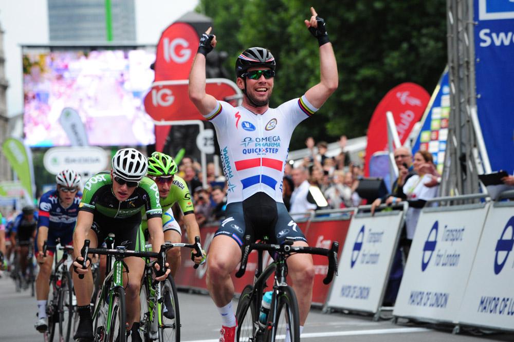 Mark Cavendish remporte la dernière étape du Tour de Grande-Bretagne