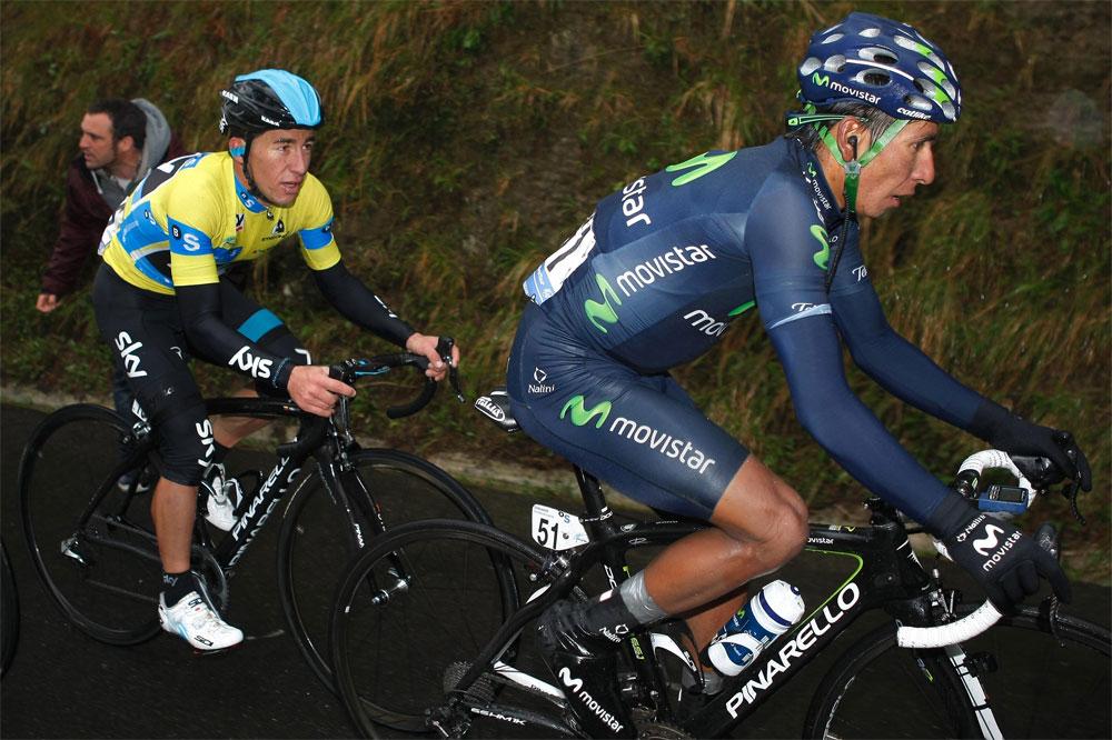 Sergio-Luis Henao s'accroche dans le sillage de Nairo-Alexander Quintana