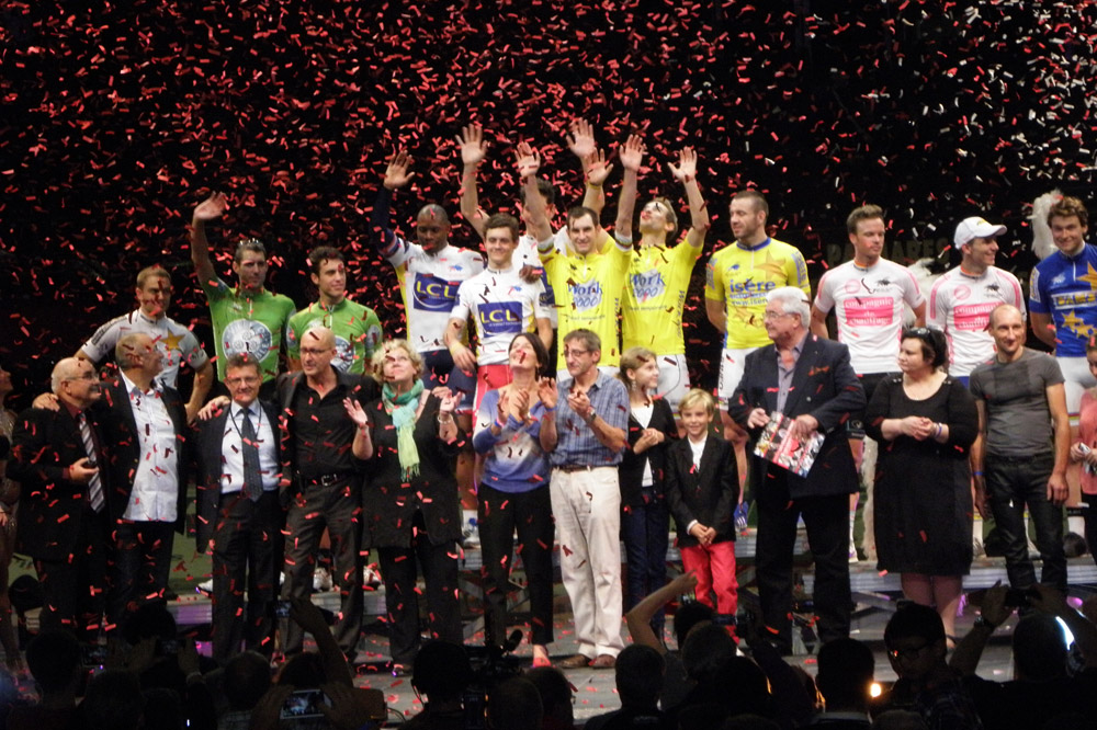 Le grand podium final des 4 Jours de Grenoble