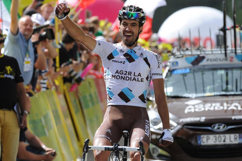 Christophe Riblon remporte une nouvelle étape de montagne