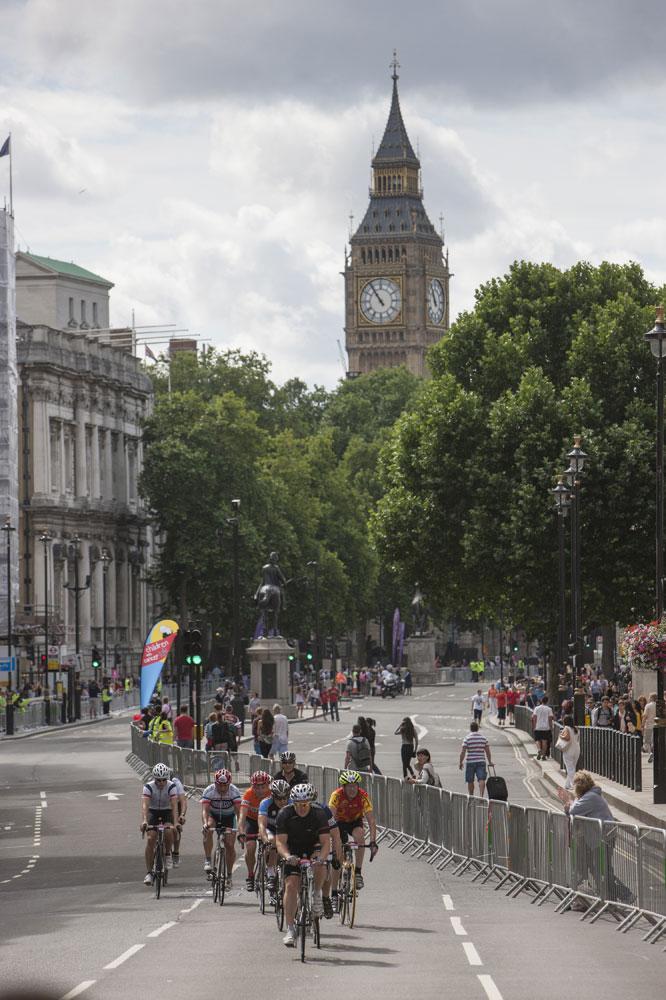 RideLondon dans les rues de Londres